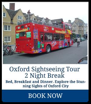 Oxford Sightseeing Tour 2 Night Break